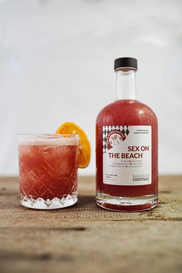 Sex on the beach Cocktail aus der Flasche bestellen - Bavarian Cocktails Online Shop