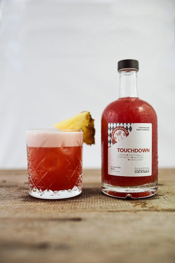 Touchdown Cocktail aus der Flasche bestellen - Bavarian Cocktails Online Shop